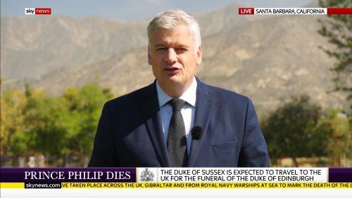 Prince Philip Dies - Sky News Coverage (11)
