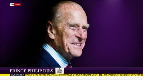 Prince Philip Dies - Sky News Coverage (3)