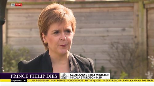 Prince Philip Dies - Sky News Coverage (7)