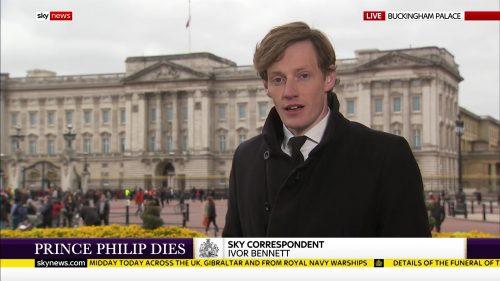 Prince Philip Dies - Sky News Coverage (8)