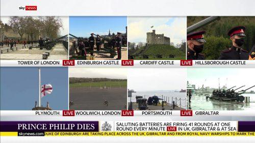 Prince Philip Dies - Sky News Coverage (9)