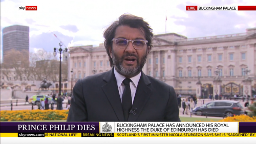 Sky News Coverage - Prince Philip Dies