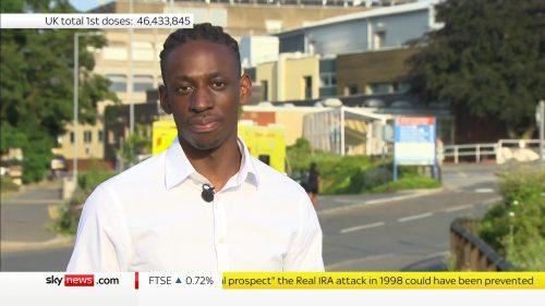 Shingi Mararike - Sky News Reporter (2)