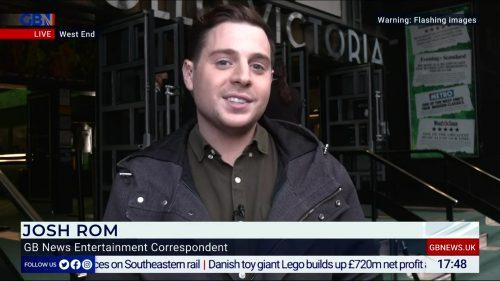 Josh Rom - GB News Entertainment Correspondent (1)